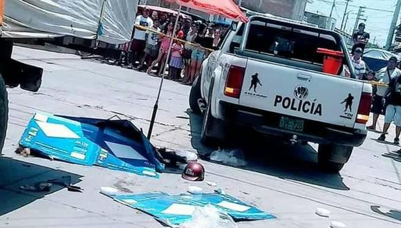 Terrible accidente en Chulucanas deja dos fallecidos. (Facebook Valle de los Incas bajo la lupa)