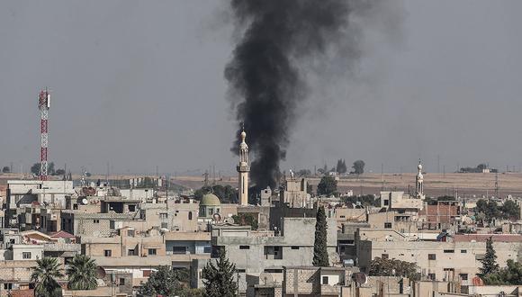 """Responsables del Pentágono declararon que hubo """"una explosión"""" en una """"zona donde los turcos habían sido informados de la presencia de fuerzas estadounidenses"""". (Foto: EFE)"""
