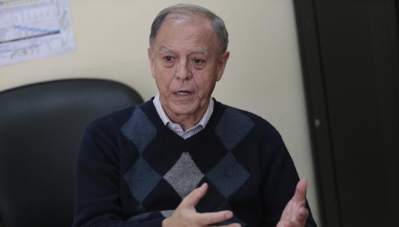 Exdirector del BCR considera que no se puede decidir a qué velocidad irá la economía cuando se introducen cambios. (César Fajardo)