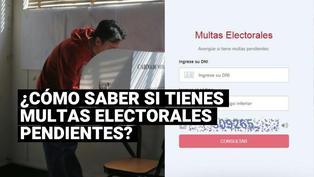 ¿Cuáles son los pasos para saber si tienes multas electorales pendientes de pago?
