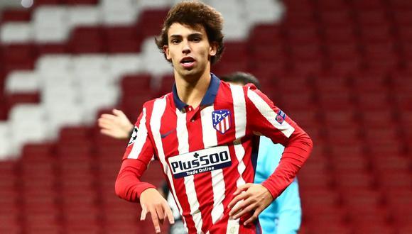 Joao Felix abandonó el campo tras ser expulsado ante Athletic. (Foto: Agencias)