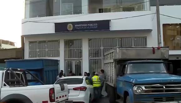 Los criminales lograron escapar. (Foto: Captura/América Noticias)