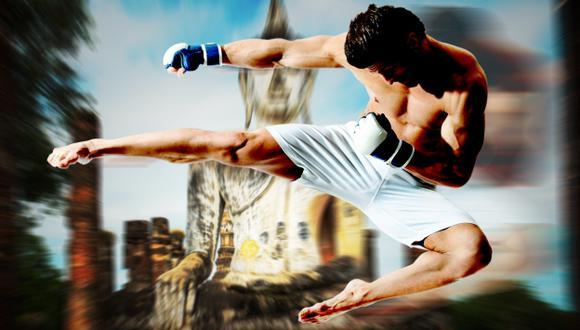 El muay thai ayuda a endurecer los músculos. (USI)