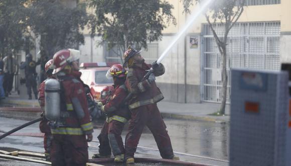 Cuerpo General de Bomberos Voluntarios del Perú tiene más de 12,000 integrantes. (Luis Gonzales)
