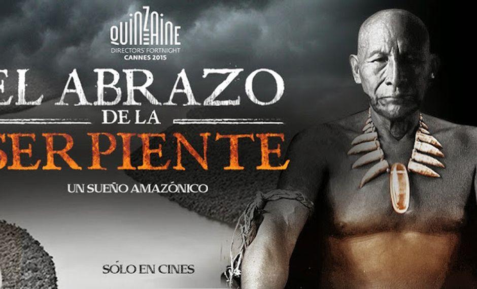 'El abrazo de la serpiente' ganó premio a Mejor Película del Festival de Cine de Lima. (Facebook)