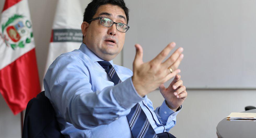 El procurador Jorge Ramírez fue destituído de la comisión Lava Jato. (Foto: Juan Ponce)