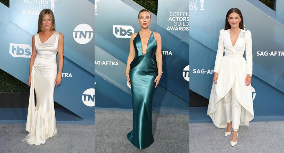 Ellas fueron las mejores vestidas a los  Screen ActorsGuild Awards 2020. (Getty Images)