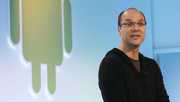 Andy Rubin, cofundador de Android, dejó Google. (AFP)