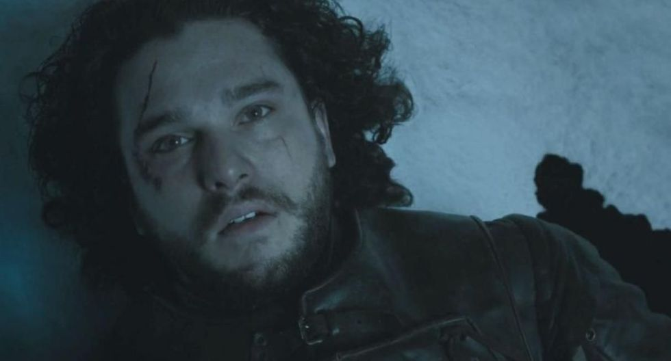 La muerte de Jon Snow. (Foto: HBO)