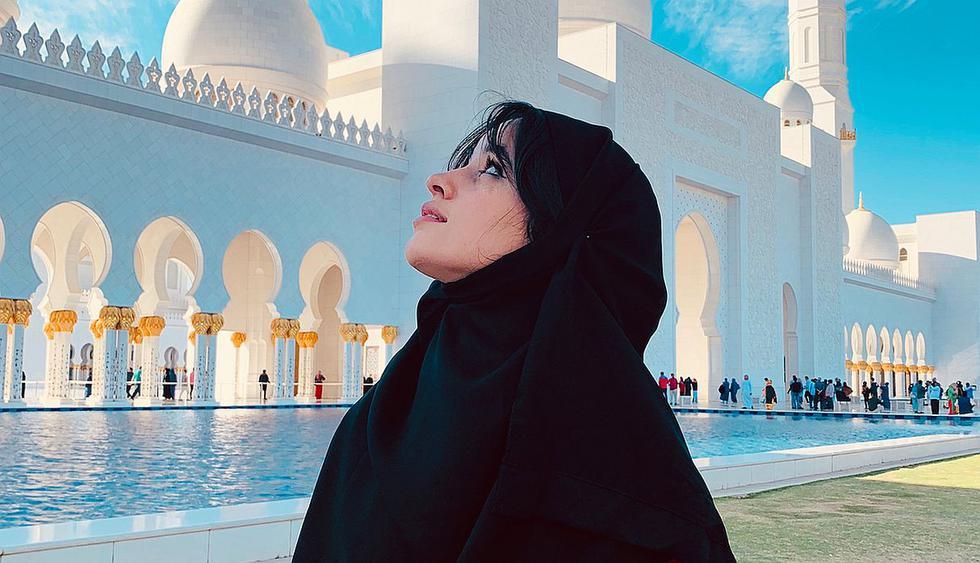 La cantante disfruta de sus merecidas vacaciones en Emiratos Árabes Unidos. (Foto: @camilacabello)