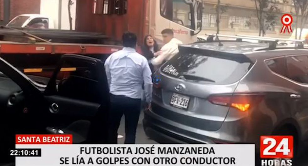 La pelea ocurrió en la cuadra 2 de la avenida Alejandro Tirado, en la urbanización Santa Beatriz. (24 Horas)