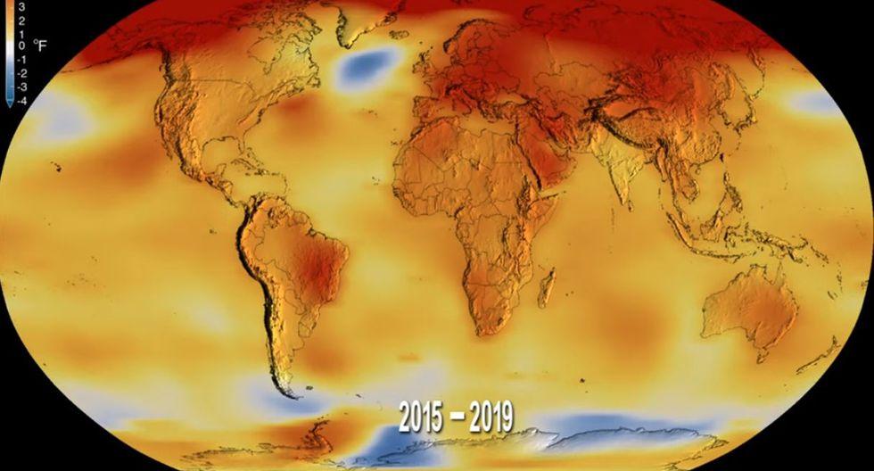 Desde los años 1980, cada década fue más caliente que la anterior, según la OMM, para la que la tendencia continuará. (Foto: Captura de video)