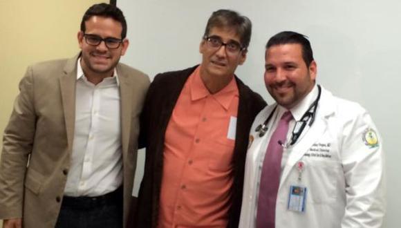 Guillermo Dávila fue dado de alta tras recuperarse de pulmonía. (TVyNovelas Puerto Rico)