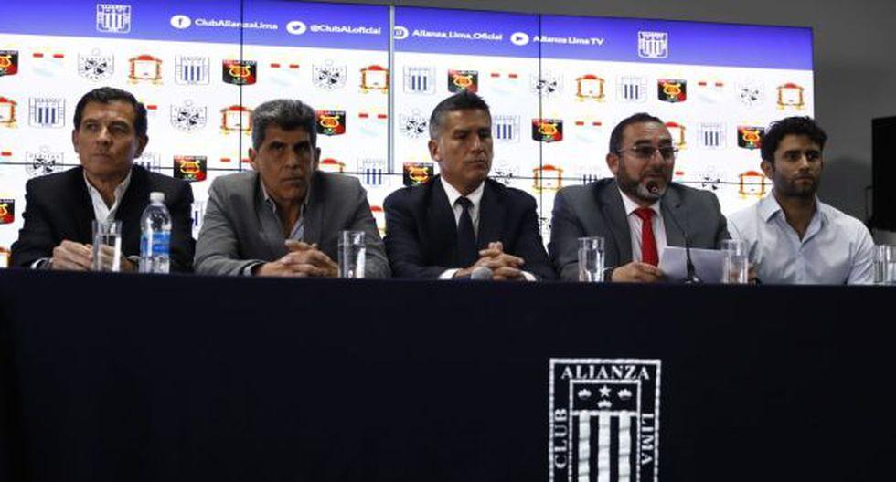 Representantes de los clubes se presentaron en conferencia. (Foto: Giancarlo Ávila / GEC)