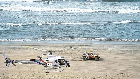 El español Carlos Sainz dominó la última etapa que se desarrolló en el Perú. (USI)