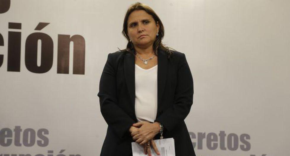 La ministra asegura que existe un trabajo coordinado para lograr resultados en este caso. (USI)