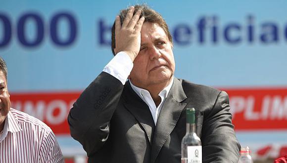 Alan García afrontará otra investigación en el Congreso. (USI)