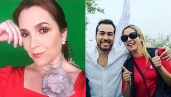 """Melissa Peschiera pide que Sofía Franco y Álvaro Paz de la Barra reciban el mismo trato: """"Hay una situación de abuso de poder"""". (Foto: @melissa_peschiera/@sofiafrancoayllon)"""