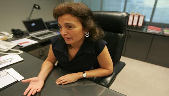Carmen Vilsdoso fue ministra de la Mujer durante el gobierno aprista. (USI)