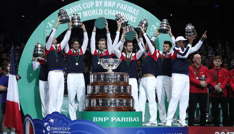 La Copa Davis, torneo con 118 años de antigüedad, cambiará de formado desde el 2019 (Fotos: AFP - AP)