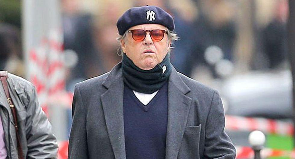 Jack Nicholson reapareció en medio de rumores de un supuesto Alzheimer. (la.eonline.com)