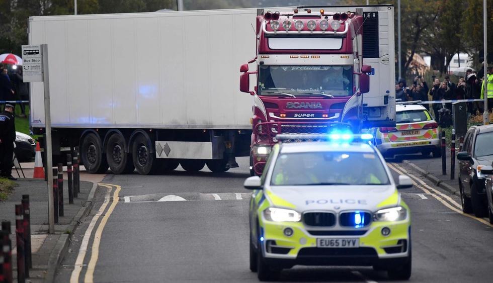 ¿Quiénes son los vietnamitas que podrían haber muerto en el camión hallado en Londres? (Foto: AFP)