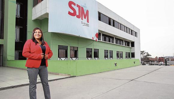 María Cristina Nina es la única mujer que dirige un municipio en Lima.