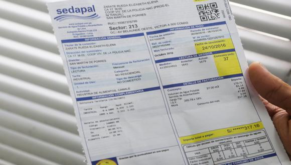 Pagos de recibo de agua se podrá realizar por las billeteras electrónicas. (Foto: GEC)