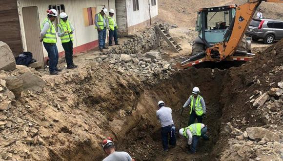Sedapal realiza trabajos de mejoramiento en Ventanilla. (Facebook)