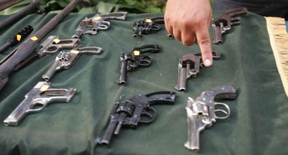NUEVO LÍMITE. El  reglamento establece que los civiles podrán poseer hasta dos armas. (USI)