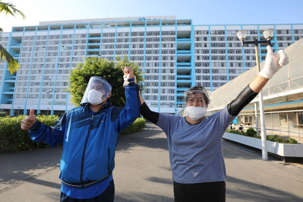 Gracias a este tratamiento pacientes graves lograron volver a sus casas. (Foto: Essalud)