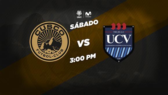Cusco FC vs. César Vallejo se enfrentan este sábado en Cusco. (Foto: Cusco FC)