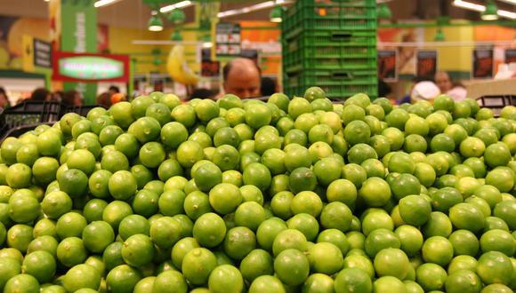 Ministerio de Agricultura garantizó el suministro estable del limón en todo el país. (Foto: Gestión)