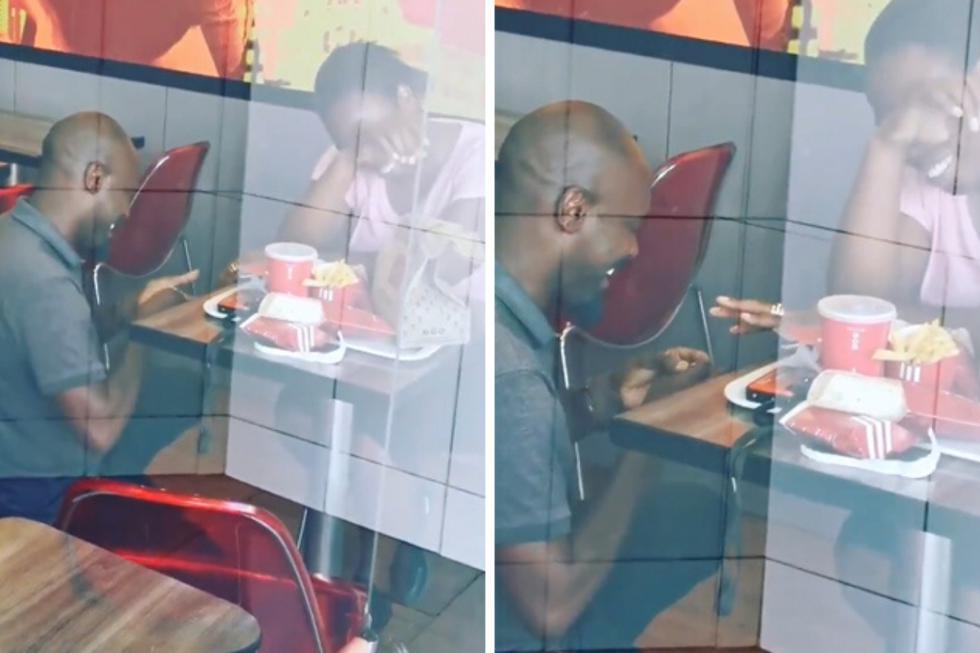 Un joven le pidió a su pareja que se casara en un local de la conocida cadena de restaurantes de comida rápida en la ciudad de Vaal, en Sudáfrica. (Crédito: @KFCSA en Twitter)
