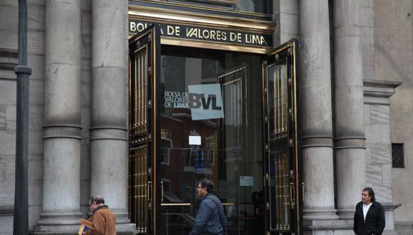 El indicador S&P/BVL Perú General, el más representativo de la bolsa, retrocedió un 0.72%. (Foto: GEC)