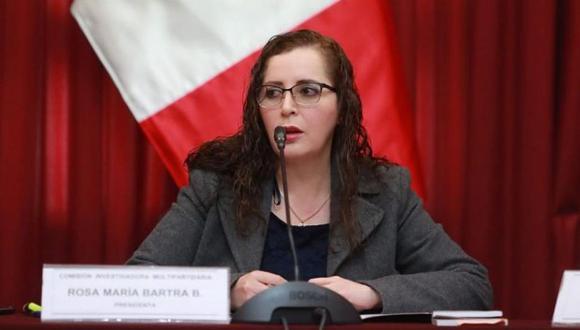 Presidenta de la Comisión de Constitución estimó que en octubre la Comisión de Venecia debatiría borrador de la opinión consultiva. (Foto: GEC)