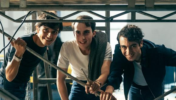 Los Prisioneros en una nueva serie. (Foto: @ArayaCorvalán).