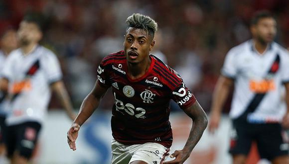 Bruno Henrique en el ojo de la tormenta previo al debut del Flamengo en el Mundial de Clubes. (Getty Images)