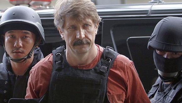 La Fiscalía había pedido la pena de muerte para Bout. (Reuters)