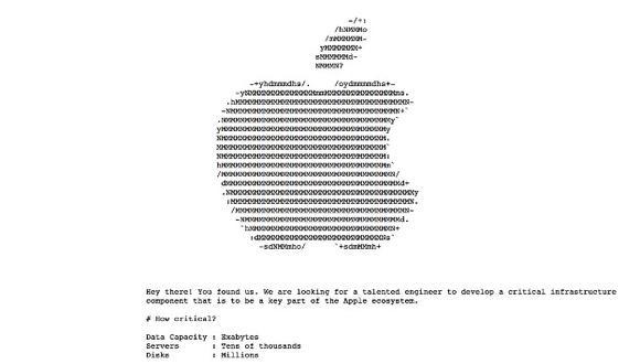 Apple ofrece ofertas de trabajo secretas en Internet… ¡y te contamos como encontrarlas! (Apple)