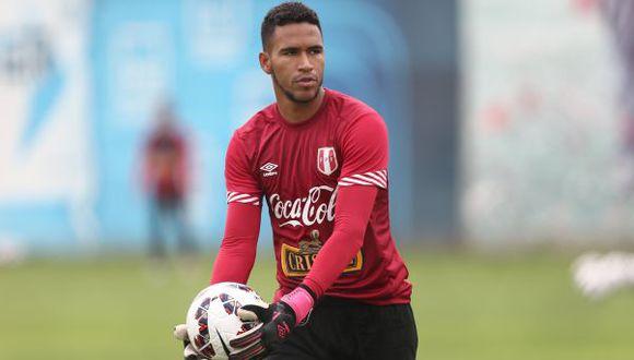 Pedro Gallese espera volver a ser titular en Perú. (USI)