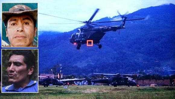 Cuerpos de terroristas fueron trasladados a Pichari, Cusco. (Rolly Reyna/El Comercio)