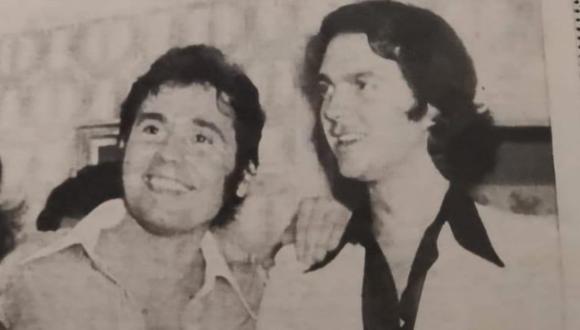 Esta es la fotografía que compartió de ambos hace años.(Foto: @RAPHAELartista)