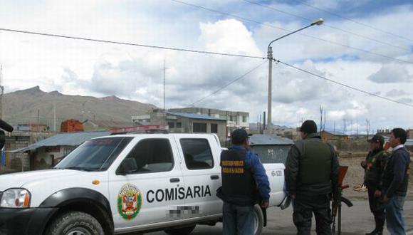 Delincuentes serán llevados a penal de Huancayo. (USI/Referencial)