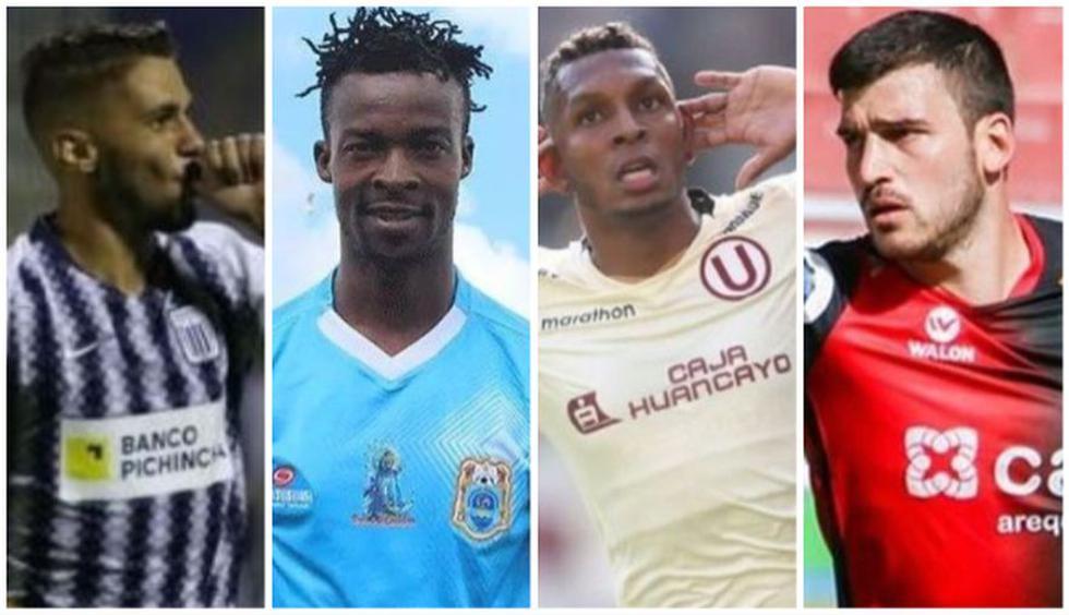 Liga 1: el equipo ideal del 2019 con los jugadores extranjeros del fútbol peruano. (Foto: GEC)