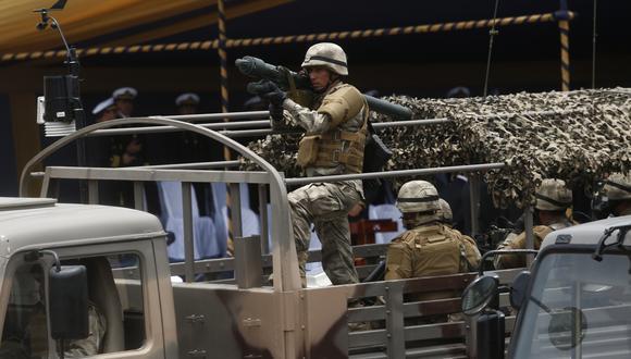 Oficial falleció durante una intervención de las Naciones Unidas. (GEC)