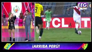 EEG: Mira como narró Johanna San Miguel los goles peruanos