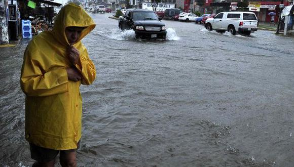 Estragos del huracán Raymond en Acapulco. (Reuters)