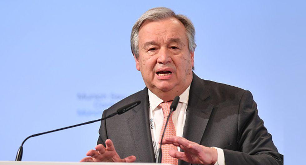 António Guterres demostró su preocupación ante el terrorismo y las nuevas amenazas en el ciberespacio. (Foto: Getty Images)