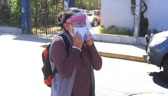Celia Capira se convirtió del dolor de Arequipa, que ha visto como su sistema sanitario se encuentra desbordado. (GEC)